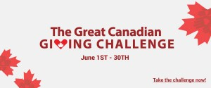 The great Canadian Giving Challents