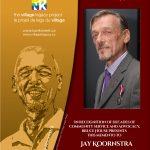 Jay Joornstra - Retirement plaque