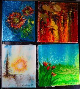Paintings of the 4 seasons